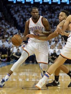Blog Esportivo do Suíço:  Kevin Durant desperta, resolve, e Thunder iguala série com os Spurs