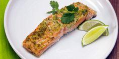 Cilantro-Lime Salmon  - Delish.com