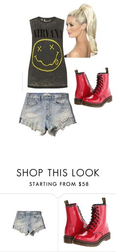 """""""Untitled #20"""" by monkeymakell ❤ liked on Polyvore featuring Abercrombie & Fitch and Dr. Martens"""