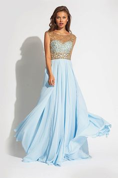 This site has tons of gorgeous, modest prom dresses- for $200 or less!