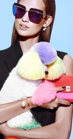 "Sebastian Mader for Dior magazine. p.s. Dior ""Diormetallic"" Sunglasses"