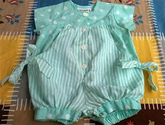 80s Baby Romper 912 Months by lishyloo on Etsy, $8.00