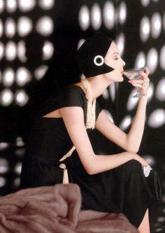 fine • anne saint marie / 1960 / karen radkai for vogue