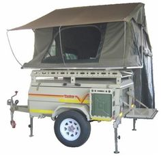 Savuti Venter Leisure Trailer Tent is a multi-purpose off-road camping trailer that will make sure your trip is a success. Built for sturdiness and to last. Off Road Tent Trailer, Used Camping Trailers, Camping Trailer For Sale, Off Road Camping, Tiny Trailers, Trailers For Sale, Trailer Sales, Equipment Trailers, Camping Equipment