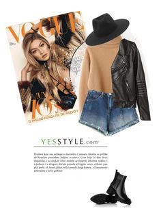 """""""YESSTYLE.com"""" by monmondefou ❤ liked on Polyvore featuring Cherrykoko, H&M, rag & bone and JY Shoes"""
