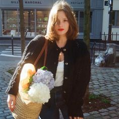 Pelo Vintage, Cecile, French Chic, How To Pose, Parisian Chic, Grunge Hair, French Fashion, Slow Fashion, Hair Inspiration