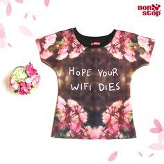 ¡Auténtica y a la moda con #NonStop! Lógralo con esta linda blusa.