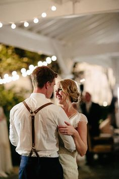 First Dance | Beautiful Rustic Wedding at Cedarwood | Q Avenue Photo | Bridal Musings Wedding Blog