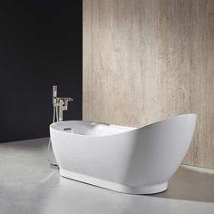 "Ove Decors Myla 69"" Freestanding Bathtub"