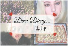 Meal Prepping & New Hair Again! | Dear Diary Week 49. - Beauty-Blush