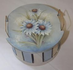 Daisy Basket by Mary Wiseman - available as a pattern packet.