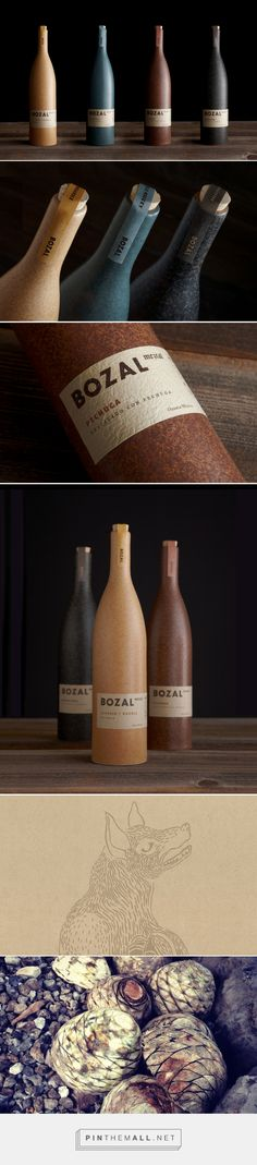 Bozal Mezcal packaging design by Swig - http://www.packagingoftheworld.com/2018/01/bozal-mezcal.html