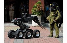military robots | Military Bomb Robot