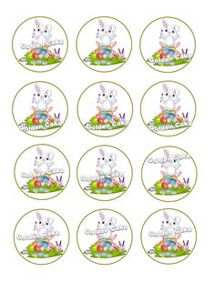 Cupcakes and cookies printing food sheet Sugar Easter It can print any design you have inquiry 00201224726691