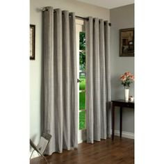 "Home Studio Livingston Curtains - 84"", Grommet-Top - GREY by Home Studio. $39.95. Overstock . For rooms that need a masculine touch, this classic grey plaid window treatment should do the job. Home Studio's Livingston grommet-top curtains have a tweedy texture that's perfect for dens, offices and bachelor pads."