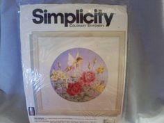 """Simplicity Colorart Stitchery Kit """"The Faerie"""" #05059 by SashaAzreal on Etsy"""