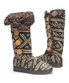 Another great find on #zulily! Brown Malena Boot - Women #zulilyfinds