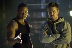 Arrow TV Show | David Ramsey and Stephen Amell in Arrow pic - Arrow picture #6 of 77