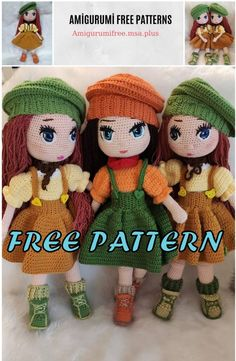 We bring you all kinds of sharing about Amigurumi. In this article we are waiting for you from each other beautiful amigurumi doll free patterns. Amigurumi Giraffe, Doll Amigurumi Free Pattern, Doll Patterns Free, Crochet Dolls Free Patterns, Amigurumi Doll, Knitting Patterns Free, Crochet Whale, Crochet Eyes, Knitted Dolls