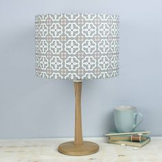 Are you interested in our Grey Lampshade ? With our Geometric lampshade you need look no further.