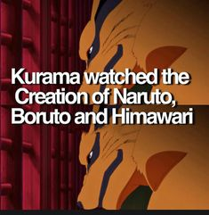 hell yeh, and kurama also watched naruto and sasuke\'s kiss