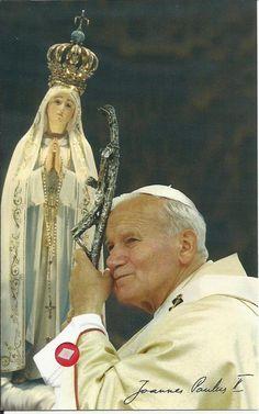 Juan Pablo II y el Amor a la Virgen Maria
