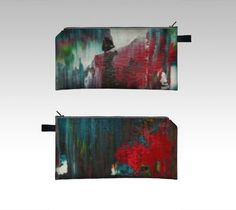 Shadow Abstract Pencil case from an original painting by rostudios, $20.00