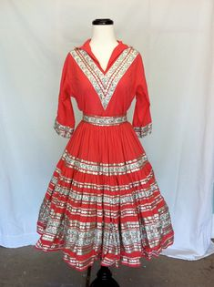 Squaw dresses. I had one of these in the 50's.  So did my mother.