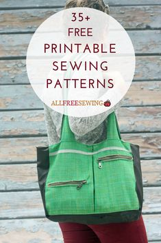 Printable sewing patterns make it easy to have the pattern in one place while you're working, especially if you're away from your computer.