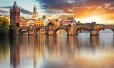 Stunning Prague - Charles bridge Czech Republic wall mural from Wallsauce. This high quality Prague - Charles bridge Czech Republic wallpaper is custom made to your dimensions. Easy to order and install. Festival Medieval, Mykonos, Weekend In Prague, Pont Charles, Prague Travel, Travel Europe, Hotels, Old Town Square, Budapest