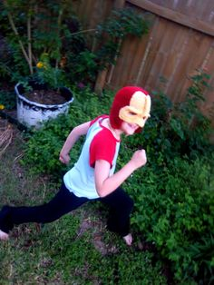 Made to Order Iron Man Crochet Hat and Mask in by KayDeeStreet, $22.00