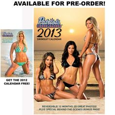2013 Cheerleader Swimsuit Calendar is available for pre-order!