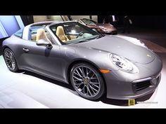 2017 Porsche 911 Targa 4 - Exterior and Interior Walkaround - 2016 LA Auto Show - YouTube