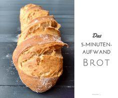 Lockeres, aromatisches Brot backen mit nur fünf Minuten Aufwand am Tag - und einem Teig im Kühlschrank, dessen Möglichkeiten nahezu unendlich sind.