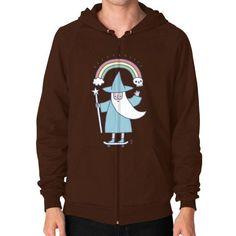 Rad Wizard Zip Hoodie (on man)