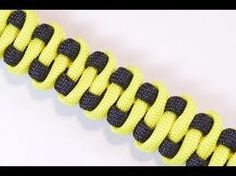 """How to Make the """"Slithering Snake"""" Paracord Survival Bracelet - BoredParacord - YouTube - LOTS OF COOL PARACORD TUTORIALS FROM THIS USER"""