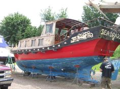 CHINESE JUNK BOATS | 1969 Chinese Junk Offshore sail power Sail Boat For Sale - www ...