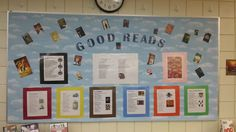 Good Reads. Lists of books by genre for some ideas for the students who know what they like, but can't find a book.
