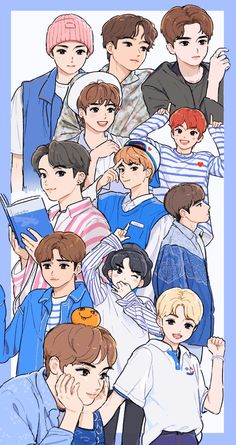 10 The Boyz Fanart Ideas In 2020 Fan Art Kpop Fanart Art