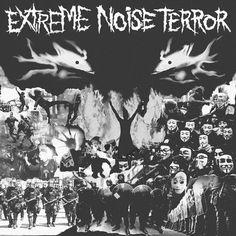 EXTREME NOISE TERROR, self-titled album