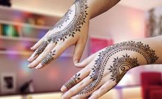 Latest Mehndi Designs Images HD Pics Free Download
