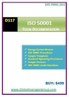 Energy Management System Procedures are key documents required for ISO 50001 Certification. The organizations looking for Energy management system implementations should be follow some specific procedures during documentation.