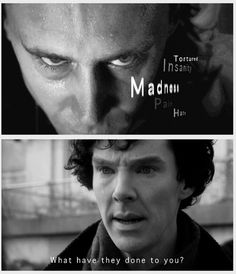 Sherlock deducts Loki after Loki's imprisonment = WOW