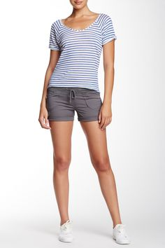Union Bay - Christy Knit Waist Short (Juniors) at Nordstrom Rack. Free Shipping on orders over $100.