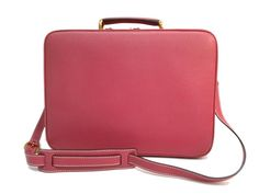 #GUCCI Suitcase Bamboo Leather Pink(BF088193). #eLADY global accepts returns within 14 days, no matter what the reason! For more pre-owned luxury brand items, visit http://global.elady.com