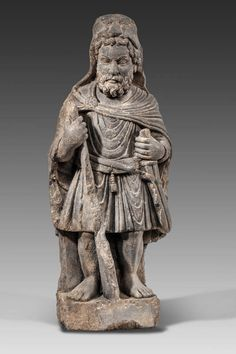 Art gréco-bouddhique du Gandhara (Ier – Vème siècle). Sculpture en schiste…