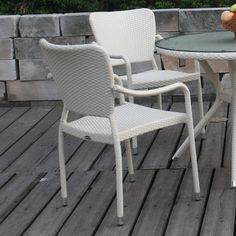 $190 Marstone USA Chatham Stacking Dining Arm Chair