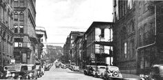 12th & Water St. Wheeling in 1937