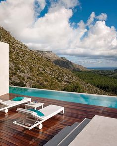 Mallorca, Spain / Miguel Ángel Lacomba Pool. ideas, backyard, patio, diy, landscape, deck, party, garden, outdoor, house, swimming, water, beach.
