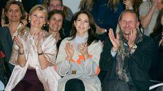 Princess Mary @ Fashion Week in Copenhagen - January 29, 2015